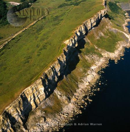 Worbarrow And Gad Cliff, Jurassic Coast, Dorset