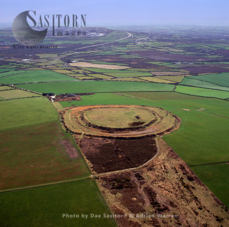 Castle An Dinas, An Iron Age Hillfort, Near St Columb Major In Cornwall