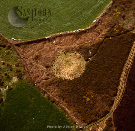 Tregeseal East, A Heavily Restored Prehistoric Stone Circle, Near St Just,  Cornwall