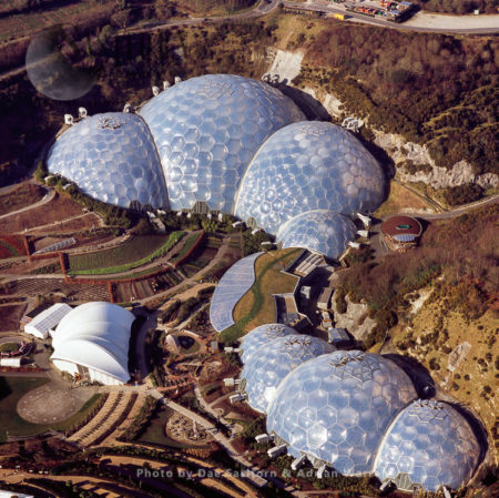 Eden Project (built In A China Clay Pit, Cornwall