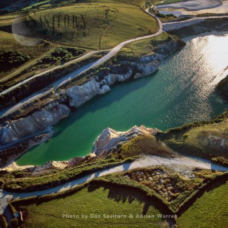 Hina Clay Quarries, St. Austell, Cornwall