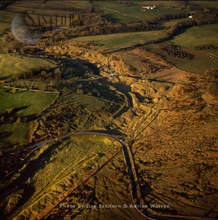 Charterhouse, Roman Lead And Silver Mining, Somerset