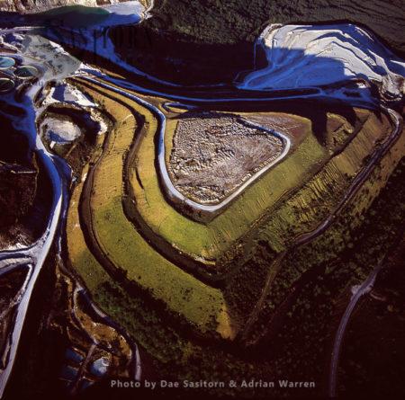 The Lee Moor China Clay Pits, Dartmoor, Devon