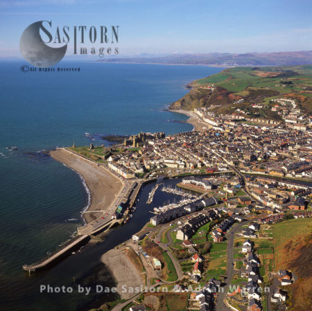 Aberystwyth, A Market Town In Ceredigion, South Wales