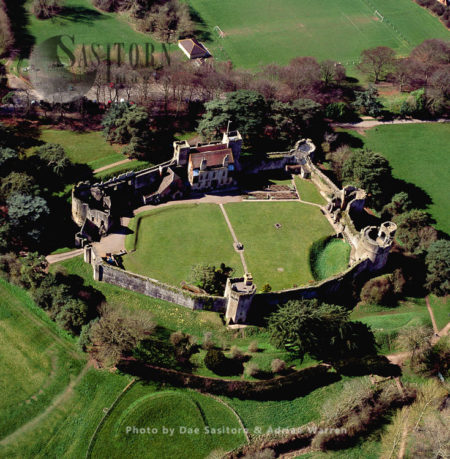 Caldicot Castle, 5 M SW Of Chepstow. South Wales
