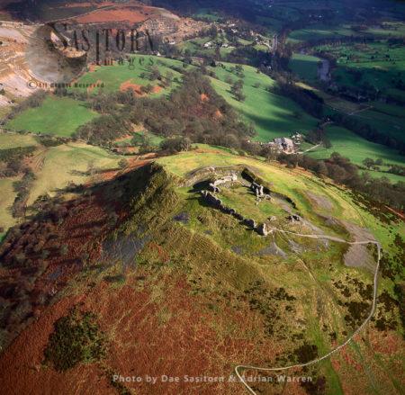 Castell Dinas Bran, 3 M NE Of Llangollen, Denbighshire, North Wales