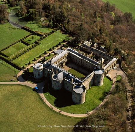 Chirk Castle. North Wales