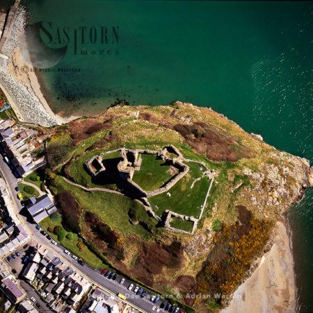 Criccieth Castle, West Of Porthmadog, North Wales
