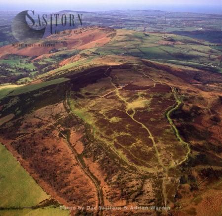 Pen-y-Cloddiau Hill Fort, East Of Of Denbigh,, Denbighshire, North Wales