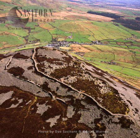 Trer Ceiri Hill Fort, At Llanaelhaearn, Gwynedd, North Wales