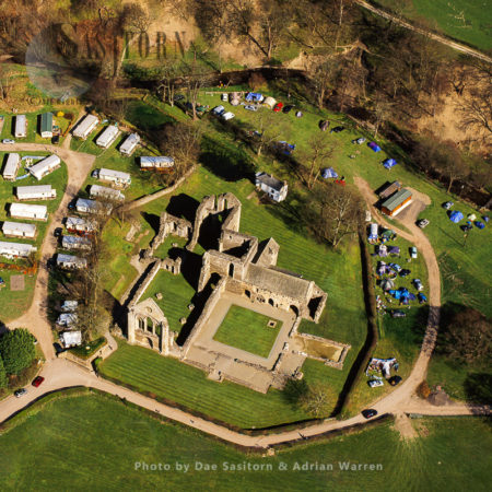 Valle Crucis Abbey, Llangollen, North Wales