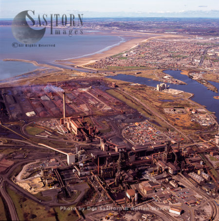 Steel Works At Port Talbot, South Wales