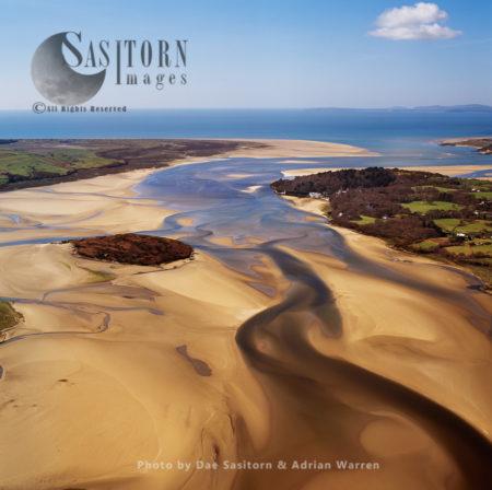 River Dwyryd Estuary, Near Portmeirion, Gwynedd, Wales
