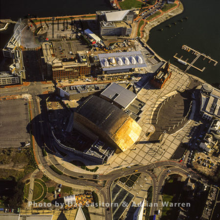 Wales Millennium Centre, Cardiff Bay, Cardiff, South Wales