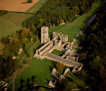 Fountains Abbey, A Ruined Cistercian Monastery, North Yorkshire