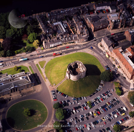 York Castle, A Fortified Complex, City Of York, England