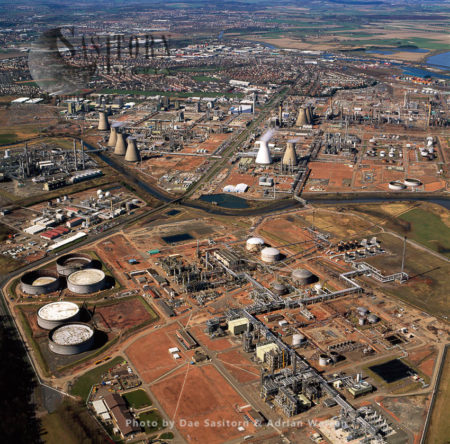 Grangemouth Docks And Grangemouth Oil Refinery