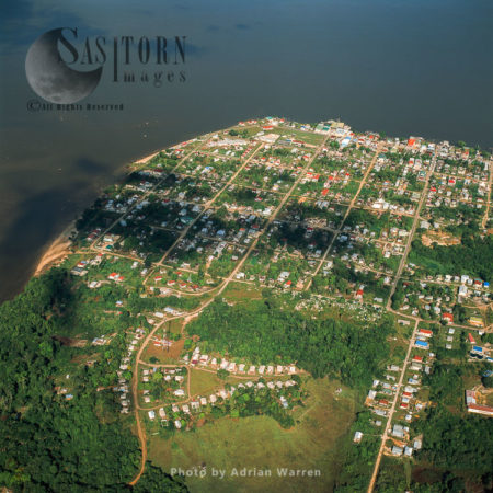 Bartica, On The Essequibo River, Guyana, South America