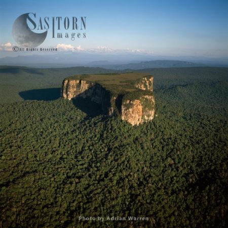 Aerial Image Of Guyana, South America: Ayangaik Mountain, Upper Mazaruni District