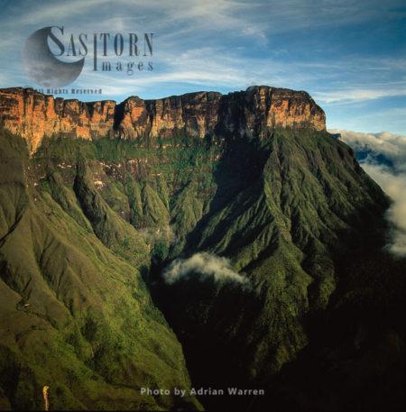 Mount Auyantepui,  Tepuis, Venezuela, Venezuela