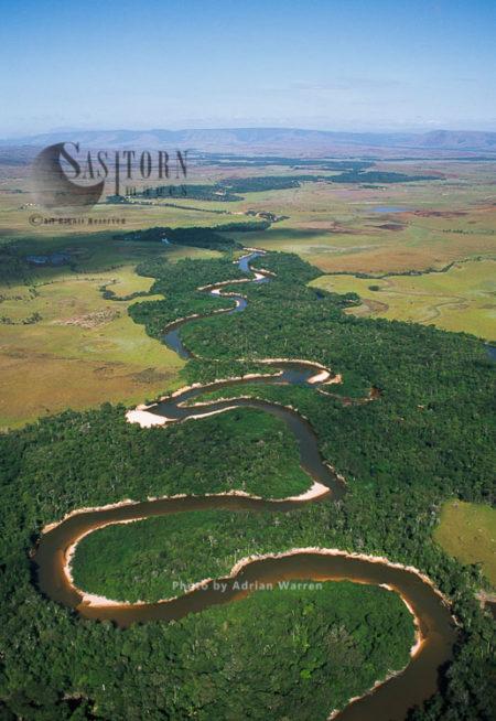 Rio Canori, Gran Sabana, Canaima National Park, Tepuis, Venezuela