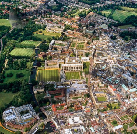 Cambridge, Home To The Prestigious University Of Cambridge, And The River Cam, Cambridgeshire