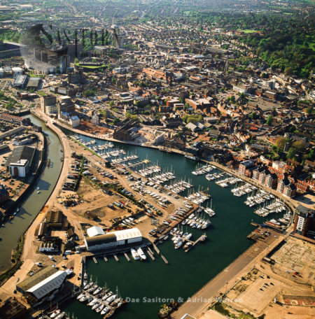 Ipswich Waterfront, On The Estuary Of The River Orwell, Suffolk