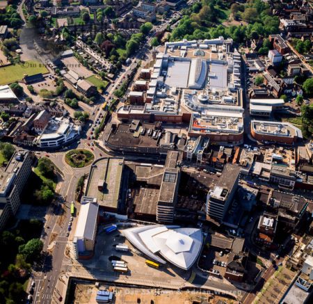 Bus Station And City Centre, Norwich, Norfolk