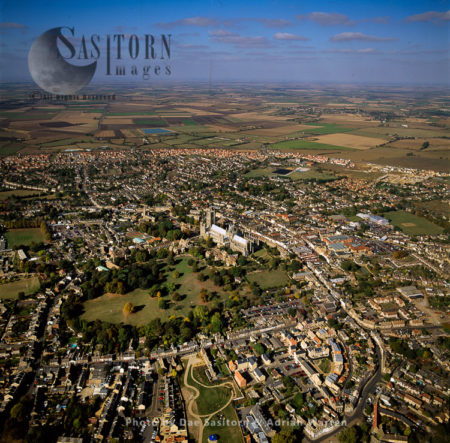 Elycity And Its Cathedral, Cambridgeshire