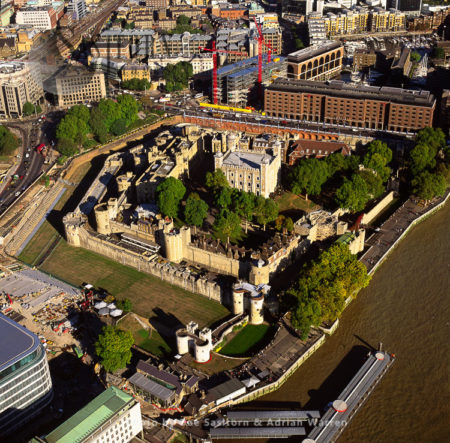 Tower Of London, A Historic Castle On The North Bank Of River Thames, Central London, England