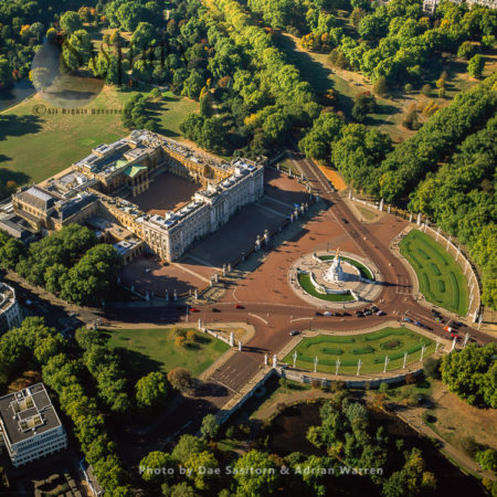 Buckingham Palace And Victoria Memorial, Westminster, London