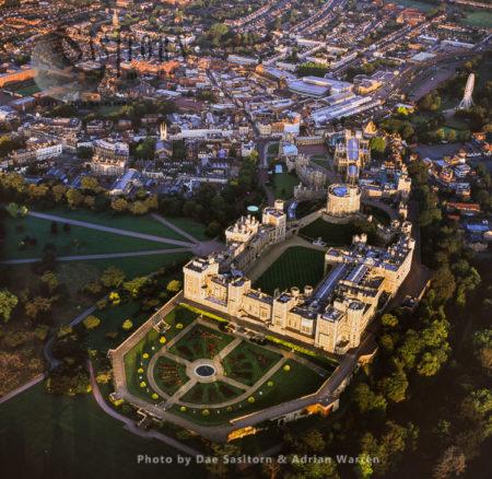 Windsor Castle, A Royal Residence At Windsor, Berkshire
