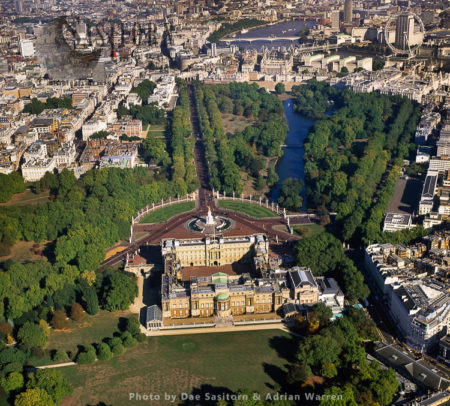 Buckingham Palace And St James's Park, Westminster, London