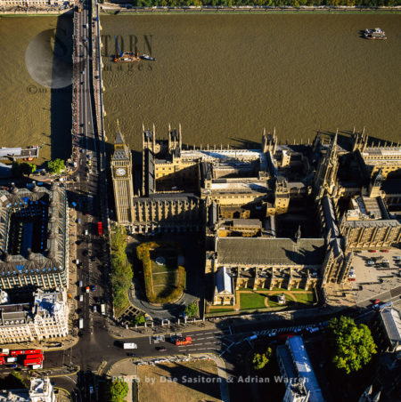Big Ben, Palace Of Westminster (Houses Of Parliament), New Palace Yard, London