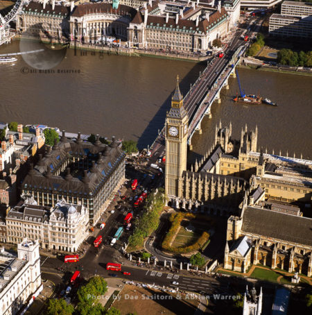 Big Ben, Houses Of Parliament, Portcullis House, Westminster Bridge, London