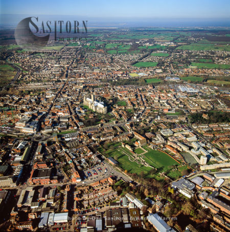 Canterbury Cathedral And Its City, Kent, England