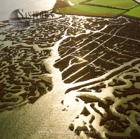 Mud Flats On The River Blackwater, Northey Island, Maldon, Essex