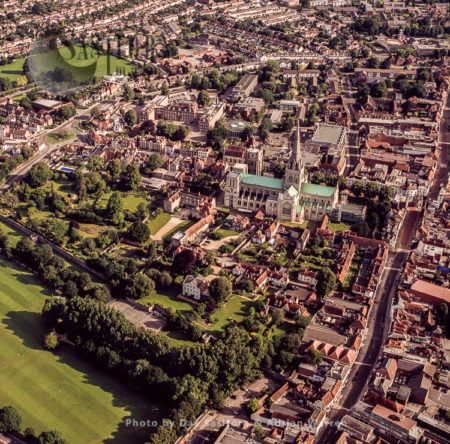 Chichester Cathedral And Its City, West Sussex