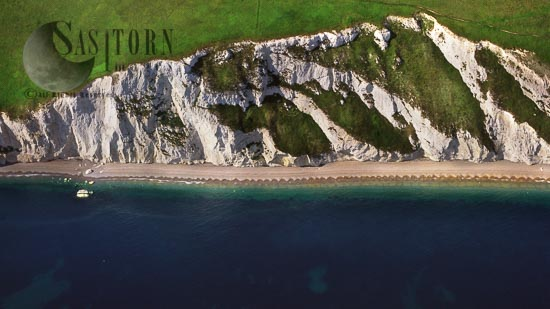 White Cliff Of Dorset Coast Just East Of White Nothe , Dorset