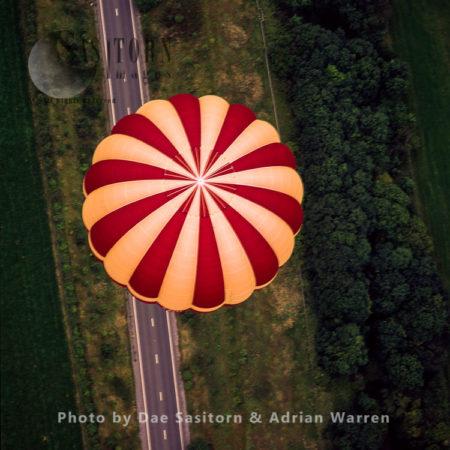 Balloon Fiesta 2004, Ashton Court, Clifton, Bristol, England