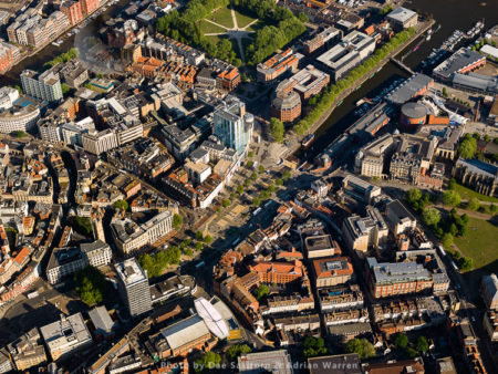 Bristol City Centre At Watershed, Somerset, South West England