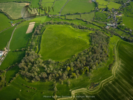 Cadbury Castle, A Bronze And Iron Age Hill Fort, South Cadbury, Somerset
