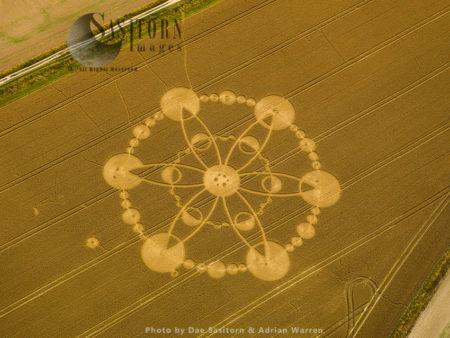 Crop Circle, Wiltshire, 2010