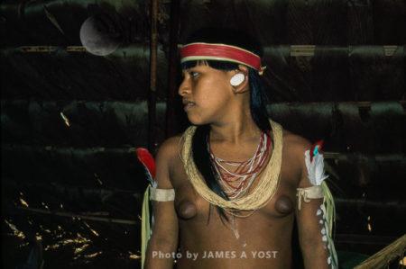 Waorani Indians: For Generations, The Waorani Sought Trade Goods Like Beads, Usually Raiding To Obtain Them, Gabado, 1974, Ecuador