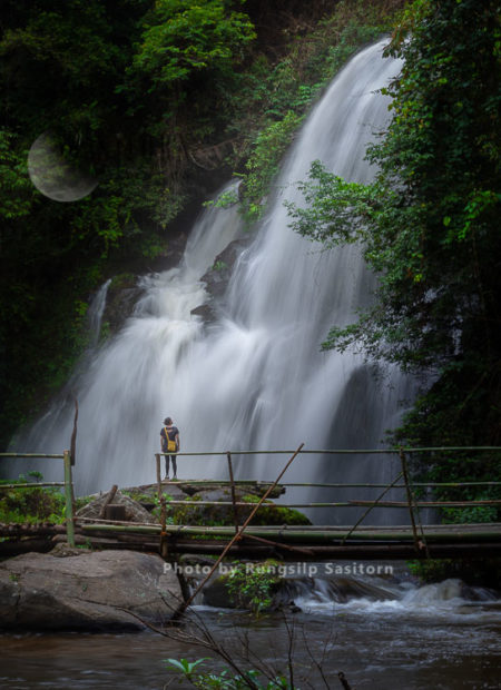 Pha Dok Siew Waterfall, Doi Inthanon National Park, Chiang Mai Thailand