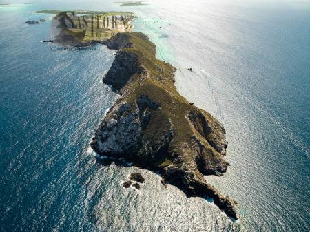 The Western End Of Gran Roque, The Main Island Of Los Roques Archipelago, Caribbean Sea, Venezuela