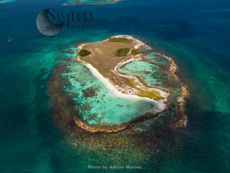 Yonqui, Island On Roques Archipelago, Caribbean Sea, Venezuela, Caribbean Sea, South America