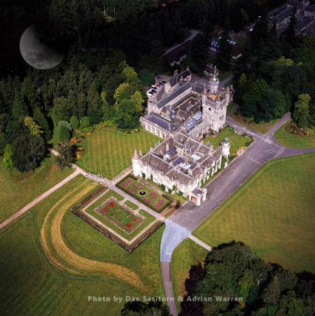 Balmoral Castle, Aberdeenshire, Scotland Known As Royal Deeside, Highlands, Scotland