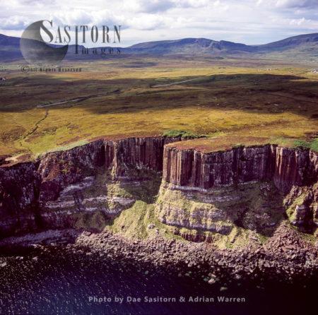 Basalt Cliffs – Isle Of Skye, Inner Hebrides, West Coast Scotland