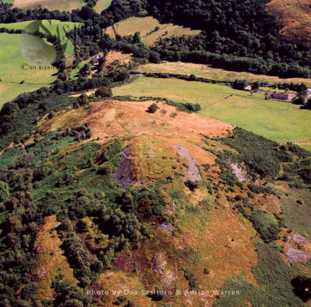 Castle Law (Abernethy) Hillfort, Perthshire, Scotland